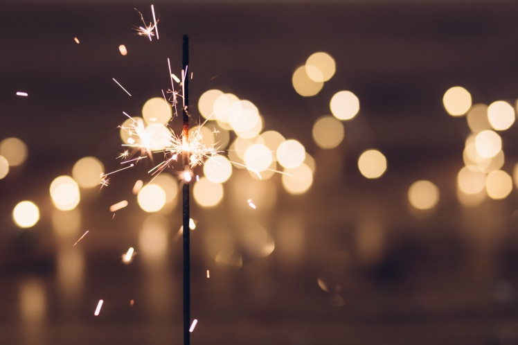 Sparkler New Years
