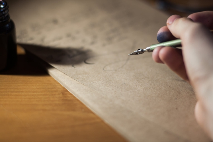 Writing a love letter
