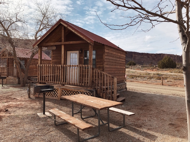 Cottage accommodation at Canyonlands