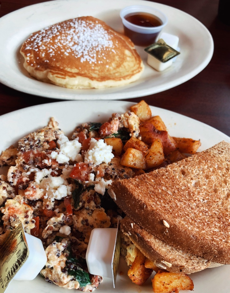 Quinoa Scramble Breakfast in Moab