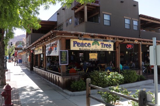 Peace Tree Juice Cafe in Moab